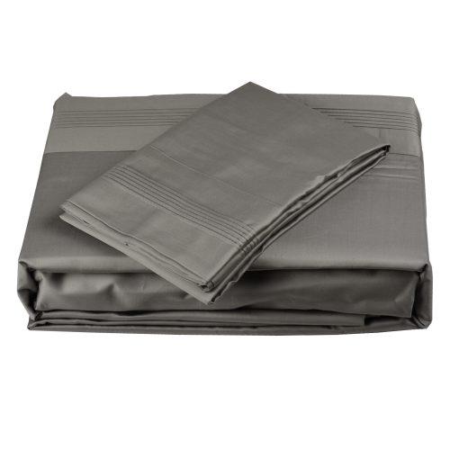 600TC Sheet Set Grey