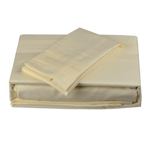 600TC Sheet Set Ivory