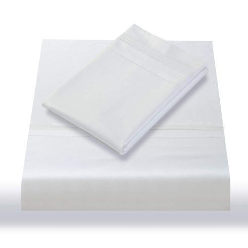 600TC Sheet Set White