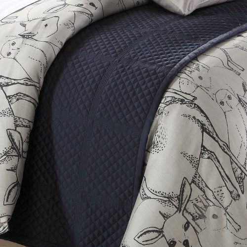 Northern Forest Coverlet